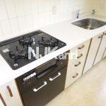 武蔵野市中町3丁目の3LDK賃貸マンション(キッチンの写真)