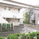 三鷹駅徒歩13分、武蔵野市中町3丁目のバストイレ別賃貸1Kアパート(眺望の写真)