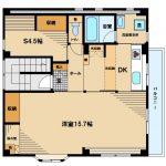 【コーポノブ】武蔵野市緑町1丁目の賃貸マンション(間取図)