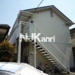 武蔵野市中町2丁目の浴室乾燥機付き1Kアパート(外観)