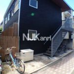 三鷹駅徒歩10分のデザイン賃貸アパート(外観)