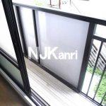 三鷹市上連雀4丁目の2DK賃貸コーポ・最上階・南向き(バルコニーの写真)