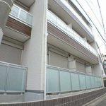 2017年8月完成・三鷹市上連雀6丁目のBT独立賃貸1Kマンション(外観写真)
