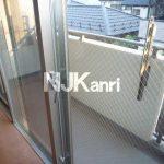 三鷹駅徒歩16分の1LDK賃貸マンション(バルコニーの写真)