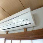 三鷹駅徒歩6分、三鷹市下連雀3丁目の3DK分譲賃貸マンション・最上階角部屋(エアコンの写真)