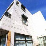 三鷹駅北口・武蔵野市八幡町1丁目のバストイレ独立1K賃貸マンション(外観写真)