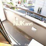 三鷹駅徒歩15分、武蔵野市中町3丁目のBT別賃貸1K(バルコニーの写真)