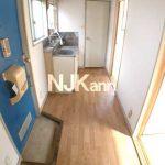 武蔵野市吉祥寺北町3丁目の2K賃貸コーポ・ワンフロア1世帯・女性限定(キッチンの写真)