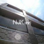 三鷹駅徒歩7分、武蔵野市中町2丁目のオートロック付き賃貸1Kマンション(外観)