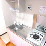 三鷹のRC造バストイレ別1Kマンション(キッチンの写真)