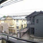 三鷹駅徒歩14分、武蔵野市中町3丁目のバストイレ別賃貸1Kアパート(眺望の写真)