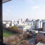 三鷹駅徒歩6分、武蔵野市中町2丁目のオートロック付き1LDK賃貸マンション(眺望の写真)