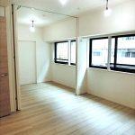 2021年完成、三鷹駅徒歩3分・三鷹市上連雀2丁目の1LDK分譲賃貸マンション(居室・リビングの写真)