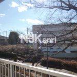 三鷹駅徒歩13分、三鷹市上連雀1丁目のリノベーション2LDK賃貸マンション(眺望の写真)