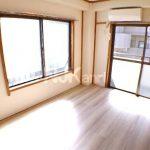 【グランドパレスマツミ】三鷹駅北口のリノベーション済1DK賃貸マンション(居室・リビングの写真)