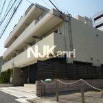 三鷹駅徒歩6分、武蔵野市中町2丁目のオートロック付賃貸1Kマンション(外観写真)