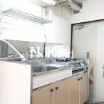 三鷹駅徒歩13分、武蔵野市中町3丁目のバストイレ別賃貸1Kアパート(キッチンの写真)