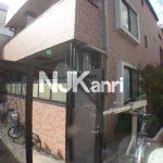 三鷹駅徒歩8分、武蔵野市中町2丁目のオートロック付賃貸1Kマンション(外観)