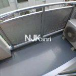 三鷹駅徒歩10分、三鷹市下連雀4丁目のRC造2DK賃貸マンション(バルコニーの写真)