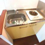 三鷹市下連雀3丁目のバストイレ独立賃貸アパート【Apartment三鷹の森】(キッチンの写真)