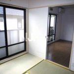 三鷹市上連雀4丁目の2DK賃貸コーポ・最上階・南向き(居室・リビングの写真)
