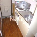 三鷹駅徒歩8分、三鷹市上連雀4丁目のバストイレ別賃貸1Kアパート(キッチンの写真)