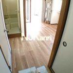 三鷹駅徒歩6分、三鷹市下連雀3丁目の3DK分譲賃貸マンション・最上階角部屋(居室・リビングの写真)
