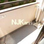 「メゾンセシール」三鷹駅北口、武蔵野市西久保2丁目の2DK賃貸マンション(バルコニーの写真)