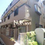 武蔵野市中町2丁目のシステムキッチン付2DK賃貸マンション(外観)