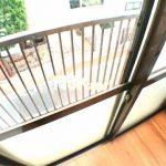 三鷹駅徒歩7分、三鷹市上連雀3丁目のバストイレ独立1DK賃貸コーポ・2階角部屋(バルコニーの写真)