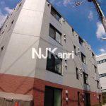 2021年8月完成の新築賃貸マンション、武蔵野市中町2丁目・三鷹駅徒歩7分「アーバンキューブ三鷹」(外観)