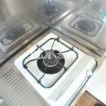 三鷹駅徒歩14分、武蔵野市西久保2丁目のバストイレ独立・ロフト付賃貸アパート(キッチンの写真)
