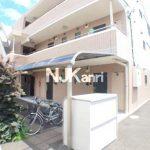 【グリーンコテージカミゴ】三鷹市上連雀5丁目のバストイレ洗面独立1DK賃貸マンション(外観)