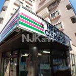 三鷹駅徒歩8分、オートロック・エレベーター付き2DK賃貸マンション(外観写真)
